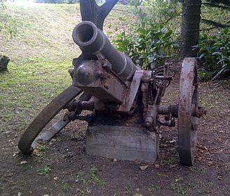 15 cm sFH 02 - Image: SFH 02 Howitzer Kei Mouth
