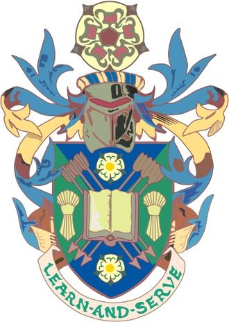 Sheffield Hallam University - Image: SHU crest