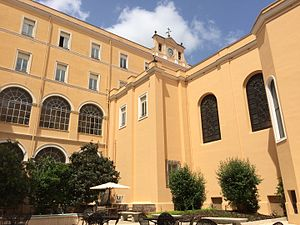 St. John's University (New York City) - The central courtyard of St. John's University - Rome