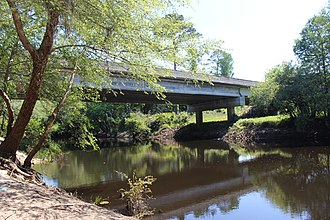 Little River (Withlacoochee River tributary) - SR 37 crossing over Colquitt/Cook county line.