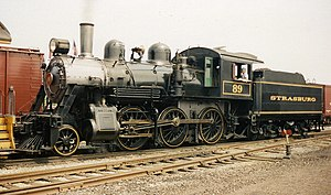 2-6-0 - Canadian National E-10-a class no. 89