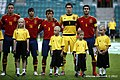 Saúl Ñíguez, Oliver Torres, Alejandro Grimaldo, Kepa Arrizabalaga, José Campaña.jpg