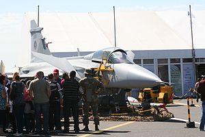 Saab JAS-39 in South African service.jpg
