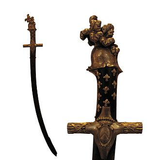Weapons of Honour - Image: Sabre of honour of Count Vauban IMG 0736 0738 white