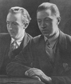 Sacheverell Sitwell with Osbert Sitwell.png