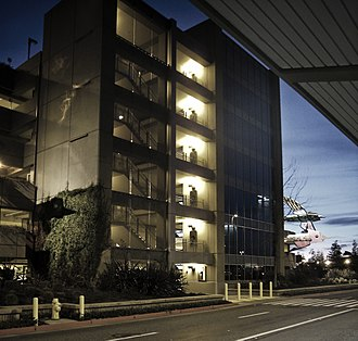 Sacramento International Airport - Parking garage at SMF