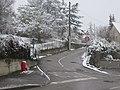 Saint-Maurice-de-Beynost - Rue de Bêche Fève sous la neige (janv 2019).jpg