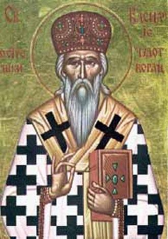 Basil of Ostrog - Serbian icon of Saint Basil of Ostrog.