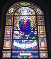 Saint Joseph Cathedral (San Diego, California) - stained glass, Queen of Heaven.jpg