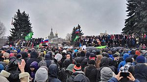 Liberalism in Russia - 2017 Russian protests, organized by Russia's liberal opposition