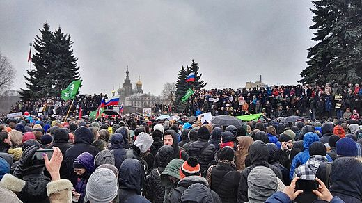 2017 Russian protests, organized by Russia's liberal opposition Saint Petersburg. Anti-Corruption Rally (26 March 2017).jpg