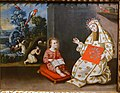 Saint Rose of Lima, artist unknown, Cuzco, Peru, 1700s, oil on canvas - Fogg Art Museum, Harvard University - DSC02021.jpg
