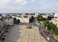 Saint Sofia square and Bogdan Khmelnytskiy monument (8162427810).jpg