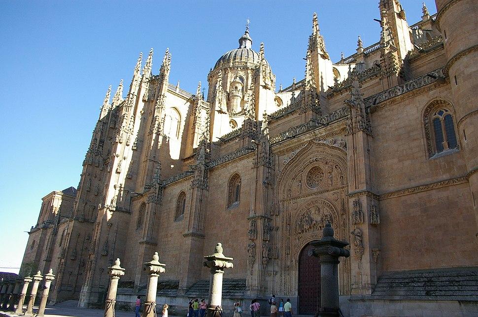 Salamanca - Catedral nueva (vista principal)