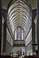 Salisbury Cathedral Nave looking west.jpg