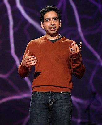 Social impact of YouTube - Image: Salman Khan TED 2011