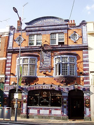 King Street, Hammersmith - Image: Salutation, Hammersmith, W6 (2447320726)