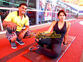 Sameera Reddy Works out in Gym (7).jpg