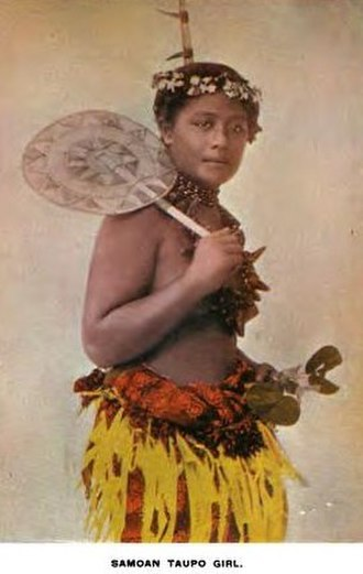 Margaret Mead - Samoan girl, c. 1896