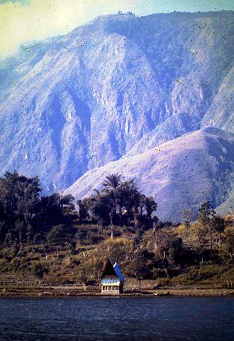 Samosir - Samosir Island – Lake Toba. 1979