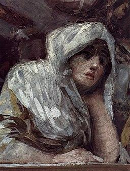San Antonio de la Florida fresco, Francisco de Goya (detail 3)