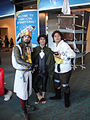 San Diego Comic-Con 2011 - Frodo with King Arthur (and Patsy) (6004551186).jpg