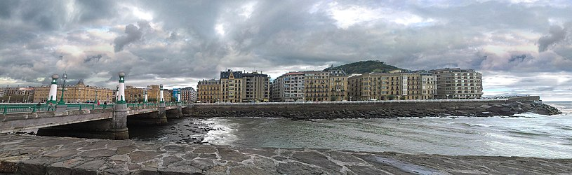 San Sebastian from Zurriola