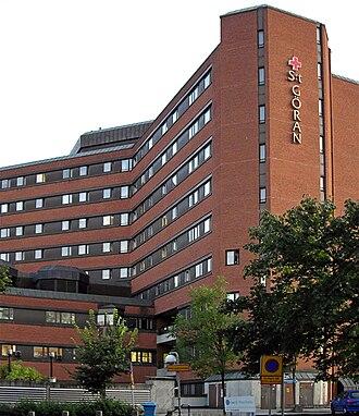 Saint Göran Hospital - Main building