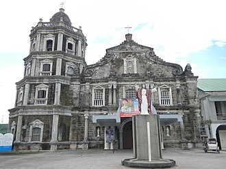 Santa Ana, Pampanga - Image: Santa Ana Church facade (Santa Ana, Pampanga)