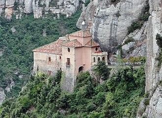 Montserrat (mountain) - Image: Santa Cova Chapel, Montserrat