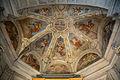 Santa Maria del Popolo Cappella del Crocefisso Deckenfresko.jpg