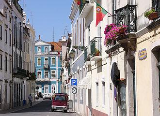 Santarém, Portugal - Cityscape of Santarém