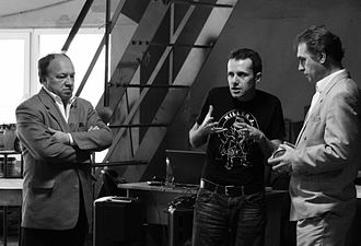 Theatre director - A director providing instruction