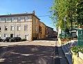 Sarcey (Rhône) - Rue Centrale direction nord (juil 2018).jpg