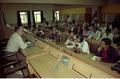 Saroj Ghose with Media Persons - Press Conference - Convention Centre Inaugural Ceremony - Science City - Calcutta 1996-12-20 004.tif
