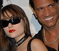 Sasha Grey, Marco Banderas at party.jpg