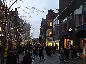 English: Sauchiehall Street, Glasgow Just two ...