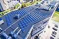 """Saulės elektrinė ant verslo miestelio """"Technopolis"""" stogo.jpg"""