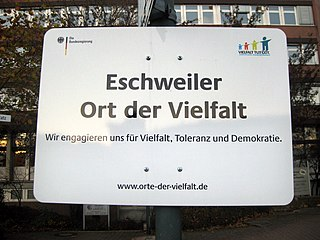 Ort der Vielfalt Government initiative in Germany
