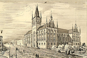 Wilhelm von Hanno - von Hanno and Schirmer's winning  (but never built) design for the Parliament of Norway Building