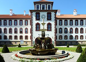 Elisabethenburg Palace - The main entrance of Elisabethenburg Palace
