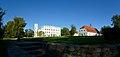 Schloss Krobnitz mit alter Schmiede.jpg