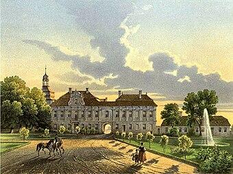 Schloss Turawa Sammlung Duncker