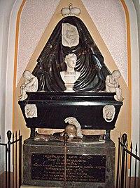 Tomb of Rittmeister Friedrich Prinz zu Schwarzenberg