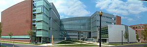 Ohio State University - Scott Laboratory, housing the Mechanical and Aerospace Engineering department.