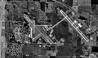 MidAmerica St. Louis Airport - USGS 1998 orthophoto
