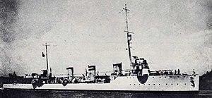 NMS Mărăști - Sparviero in 1918