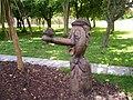 Sculpture 1, Children's Garden, Tannaghmore Gardens - geograph.org.uk - 871465.jpg