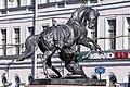 Sculptures on Anichkov Bridge 02.jpg