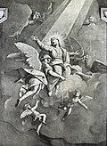 Scuola Grande dei Carmini - Cappella della Madonna del Carmelo - L'assunzione di Maria - Niccolò Bambini.jpg